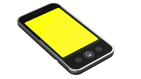 Smart Phone Yellow